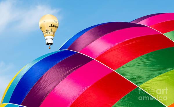 Photograph - Hot Air Balloons by Colin Rayner