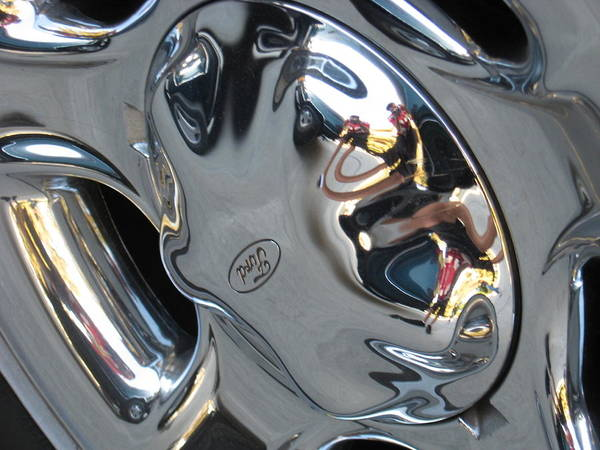 Wall Art - Photograph - Hubcaps by Blake Pereira