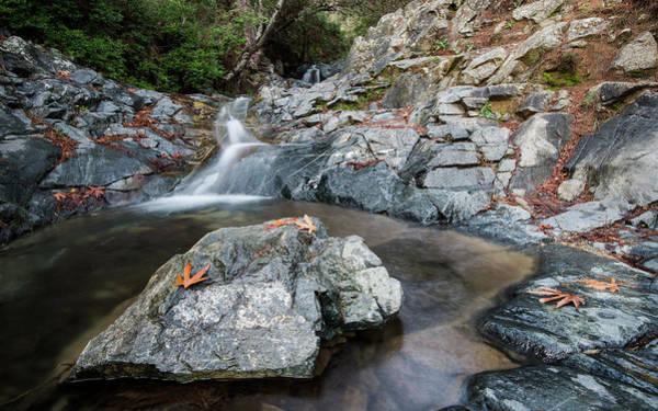 Scenery Wall Art - Photograph - Idyllic Waterfall, Troodos Mountains Cyprus by Michalakis Ppalis