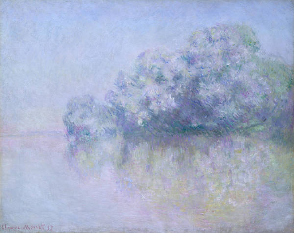 Painting - Ile Aux Orties Near Vernon by Claude Monet