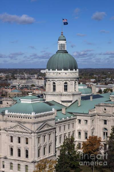 Wall Art - Photograph - Indiana State Capitol by Jason O Watson