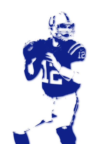 Colt Photograph - Indianapolis Colts Andrew Luck by Joe Hamilton