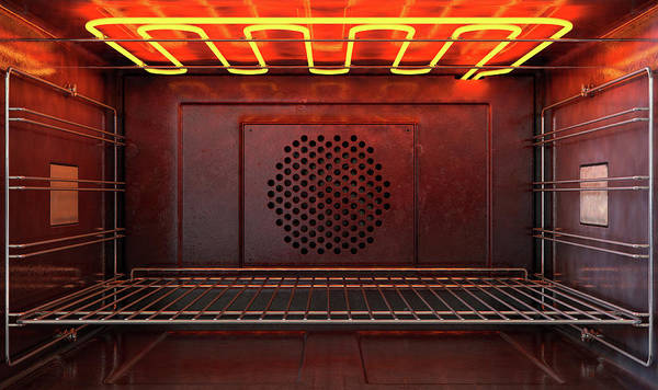 Wall Art - Digital Art - Inside The Oven Front by Allan Swart