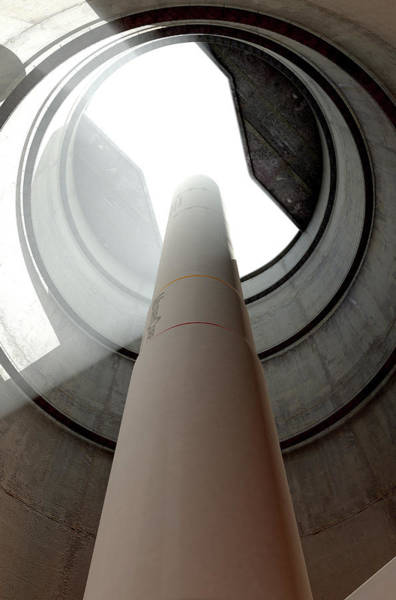 Assault Weapons Digital Art - Intercontinental Ballistic Missile Silo by Allan Swart