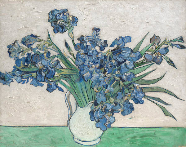 Painting - Irises, 1890 by Vincent van Gogh