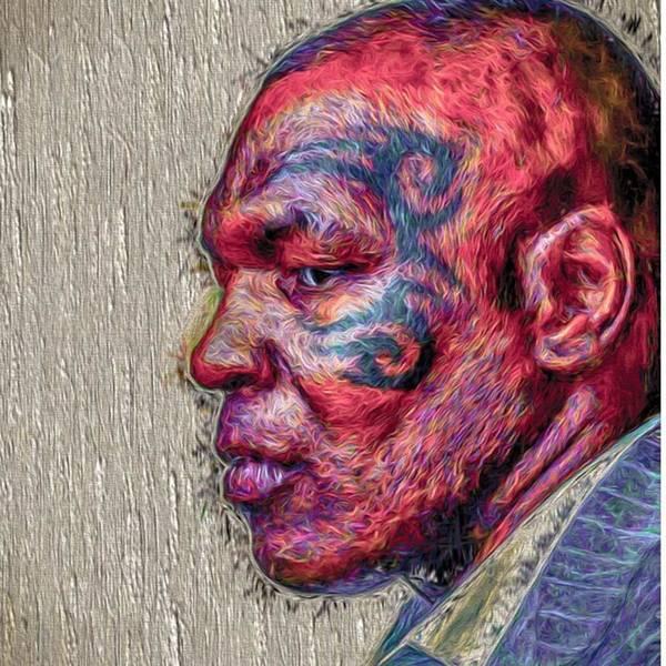 Wall Art - Photograph - #ironmiketyson @ironminetyson by David Haskett II