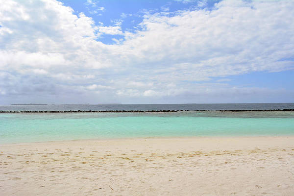 Photograph - Island In The Maldives With Beautiful Beach And Turquoise Water by Oana Unciuleanu