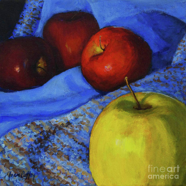 Painting - Its Okay To Be Different by Joan Coffey