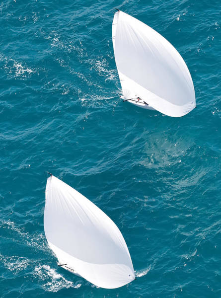 Photograph - J70 Aerial by Steven Lapkin