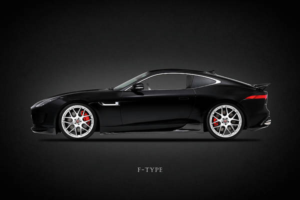 Super Cars Photograph - Jaguar F Type by Mark Rogan