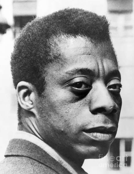 Wall Art - Photograph - James Baldwin by Granger