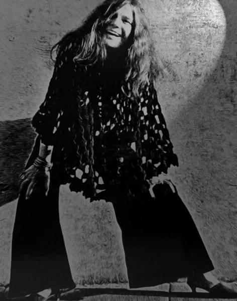 Janis Joplin Photograph - Janis Joplin by Gord Patterson