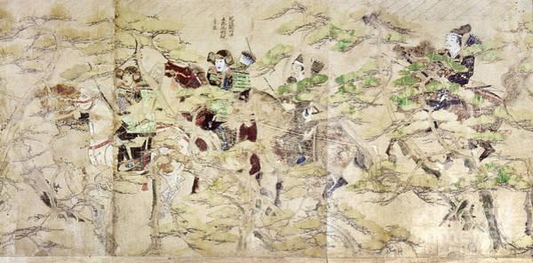Photograph - Japan: Mongol Invasion by Granger