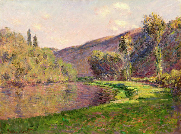 Late Afternoon Wall Art - Painting - Jeufosse, The Effect In The Late Afternoon by Claude Monet