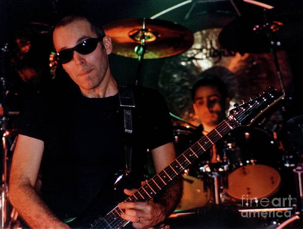 Joe Satriani Photograph - Joe Satriani by Matthew Heller