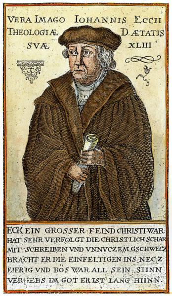 German Renaissance Drawing - Johann Eck, 1486-1543 by Granger
