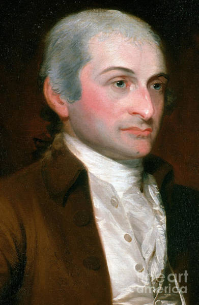 Notable Photograph - John Jay, American Founding Father by Photo Researchers