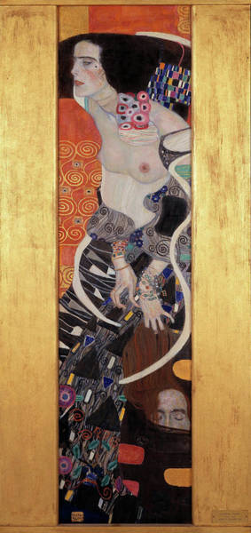 Wall Art - Painting - Judith II Salome by Gustav Klimt