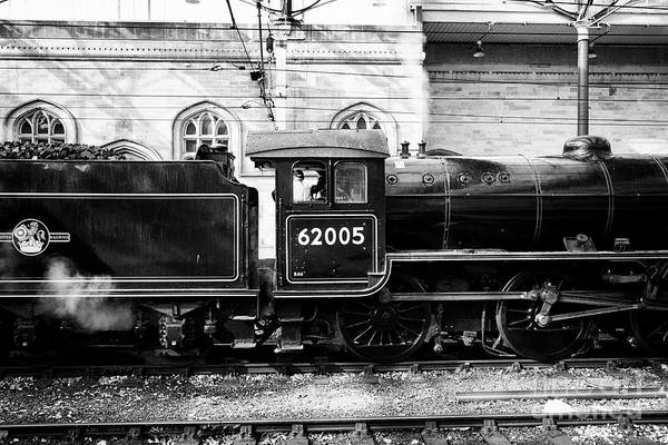 Wall Art - Photograph - K1 Lord Of The Isles Jacobite Locomotive Steam Train At Carlisle Railway Train Station Carlisle Cumb by Joe Fox
