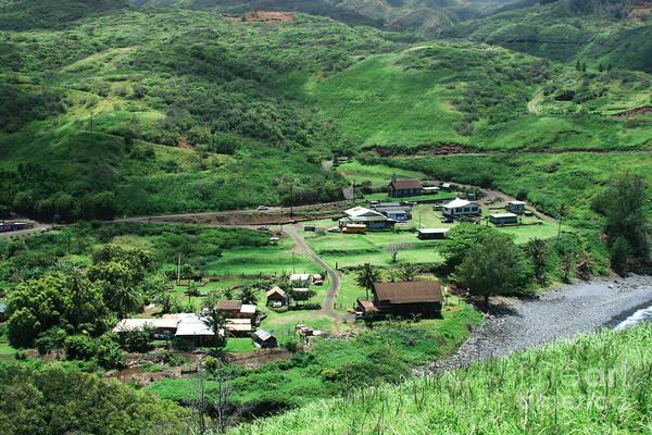 Photograph - Kahakuloa Village Maui Hawaii by Sharon Mau