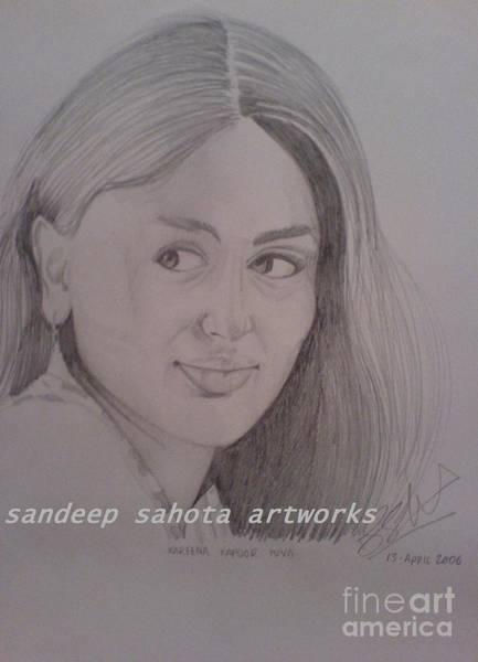 Transformer Painting - Kareena Kapoor by San Art Studio
