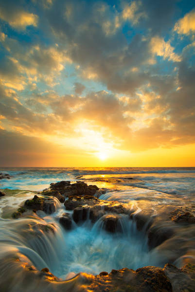 Big Island Photograph - Kona Sunset by Patrick Campbell