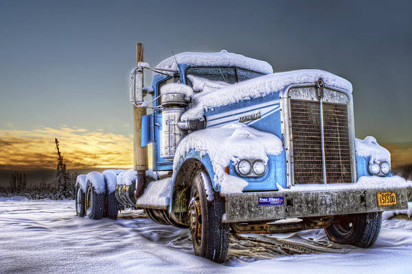 Payers Wall Art - Photograph - Kenworth Waiting For Summer by Thomas Payer
