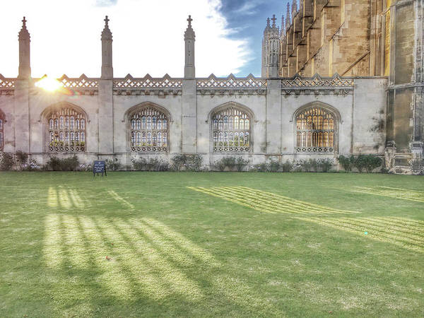 Wall Art - Photograph - King's College Cambridge by Tom Gowanlock