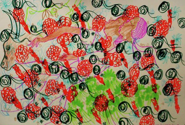 Painting - Kintu And Nambi The Serenade by Gloria Ssali