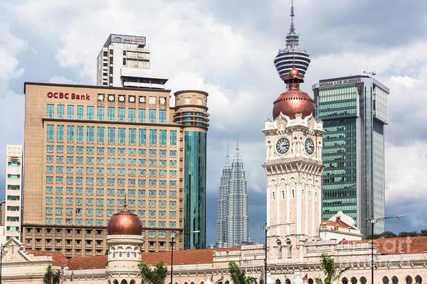 Photograph - Kuala Lumpur Cityscape by Didier Marti