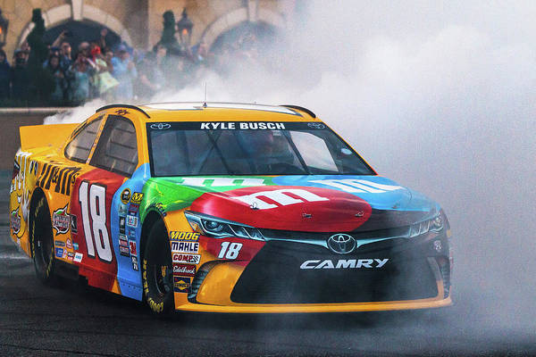 Busch Photograph - Kyle Busch  by James Marvin Phelps