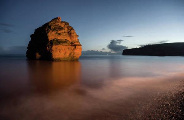 Photograph - Ladram Bay In Devon by Pete Hemington