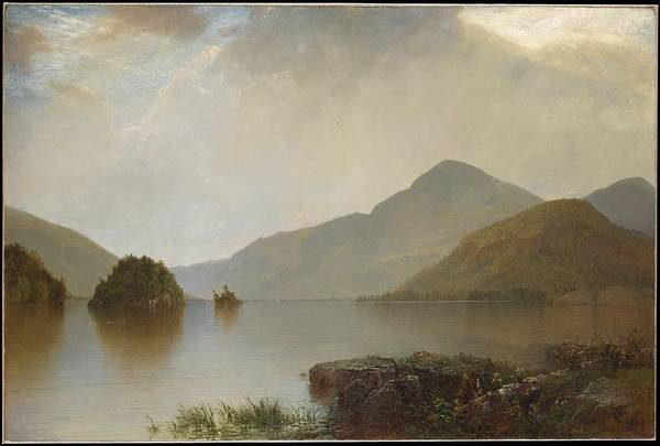 Painting - Lake George by Celestial Images