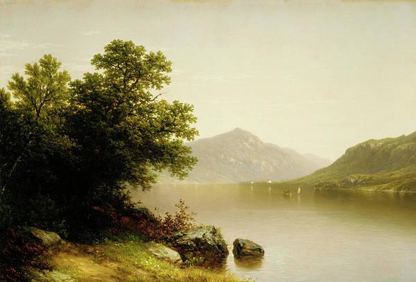 Adirondack Mountains Painting - Lake George by John William Casilear