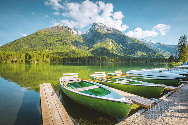 Wall Art - Photograph - Lake Hintersee by JR Photography