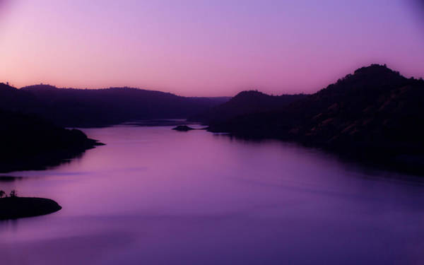 Sunset Digital Art - Lake by Maye Loeser