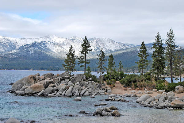 Wall Art - Photograph - Lake Tahoe by Linda Sramek