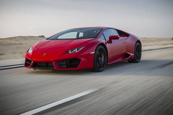 Wall Art - Digital Art - Lamborghini Huracan by Lissa Barone