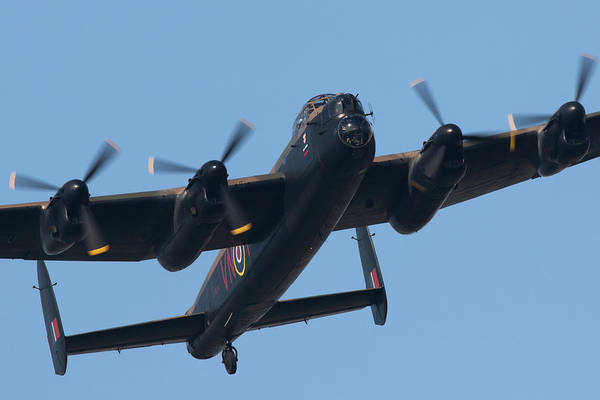Wall Art - Photograph - Lancaster Bomber by J Biggadike