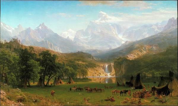 Painting - Landers Peak by Albert Bierstadt