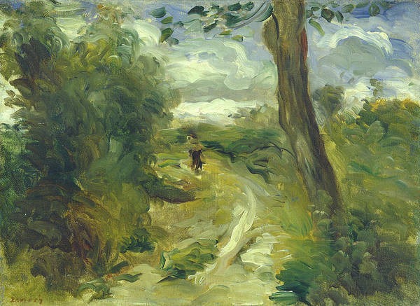 Painting - Landscape Between Storms by Auguste Renoir