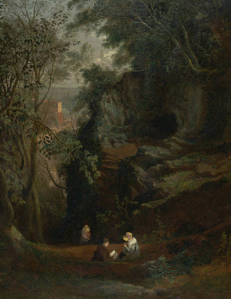 Painting - Landscape Near Clifton by Francis Danby