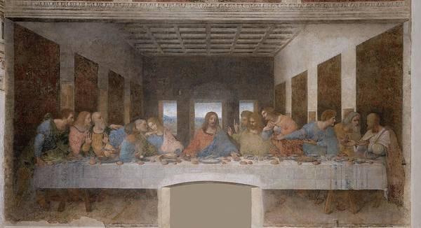 Painting - Last Supper by Leonardo Da Vinci
