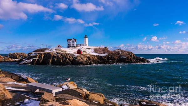 Photograph - Late Morning At Cape Neddick/nubble Light. by New England Photography