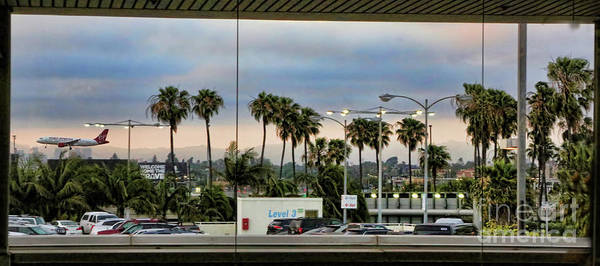 Lax Photograph - Lax Airport  by Chuck Kuhn