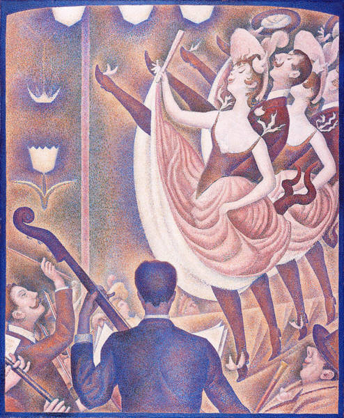 Painting - Le Chahut by Georges Seurat