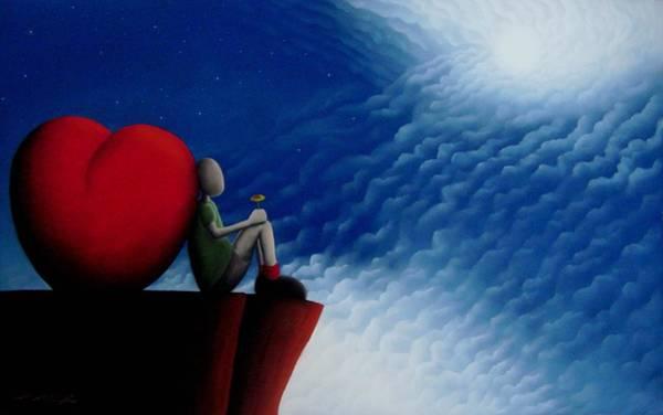 Lean On Love Art Print