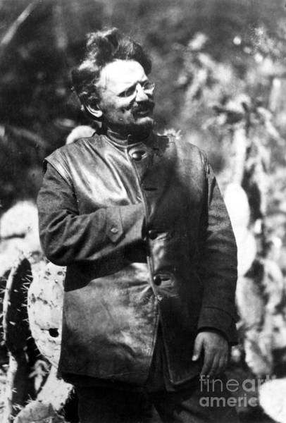 Photograph - Leon Trotsky (1879-1940) by Granger
