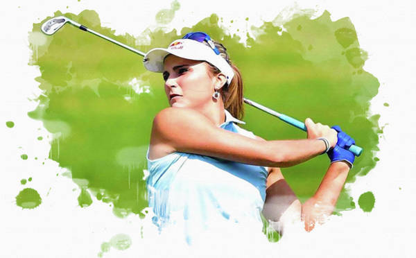 Rory Mcilroy Digital Art - Lexi Thompson by Don Kuing