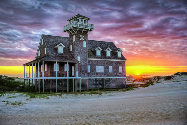 Photograph - Life Saving Station by Pete Federico